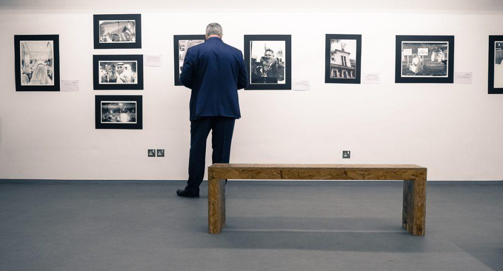 افتتاح معرض الصورة الكبيرة - مؤيد حسن